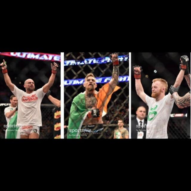 Stort grattis till SBGs tre fighters som alla vann sina matcher i helgens UFC! Nu ser vi fram emot Conor McGregors titelmatch! #sbgi #ufc #mma