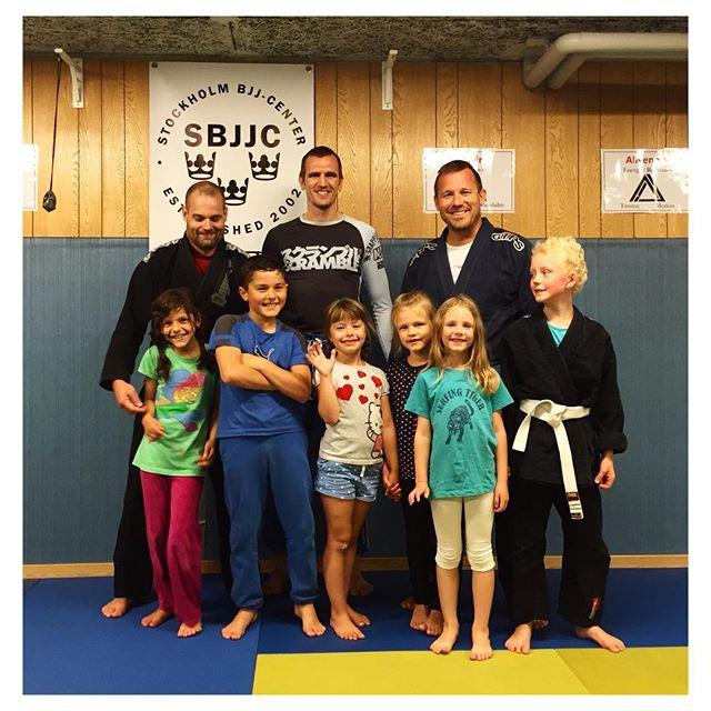 Kids-training is back! #SBGi #BJJ #StockholmBjjCenter