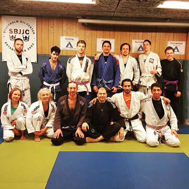 Awesome seminar with the legend Priit this weekend! #sbg #sbjjc #bjj #onetribeonevibe