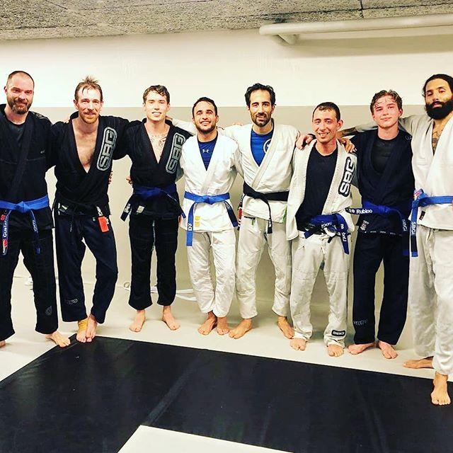 Grattis till våra nya blå bälterna! x 8